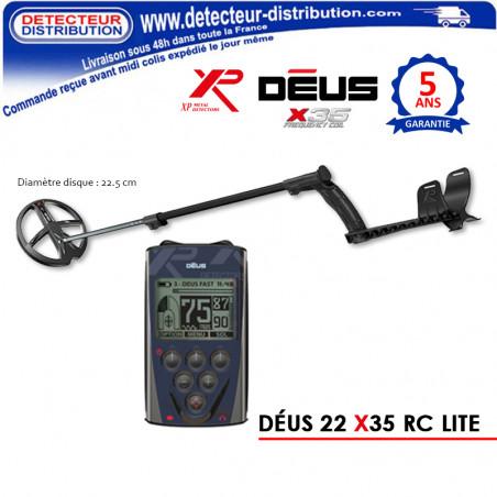 Détecteur XP Déus 22 X35 RC LITE pas cher
