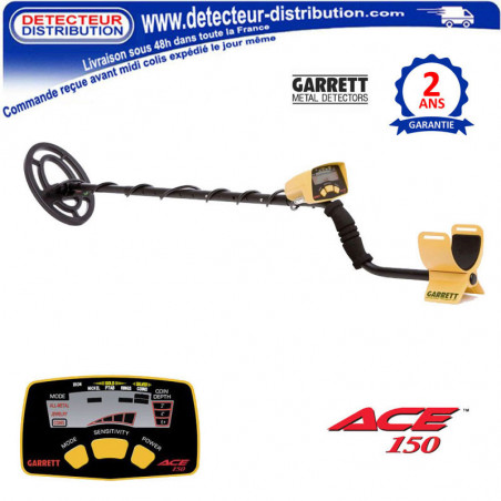 Détecteur de métaux Garrett ACE 150 pas cher