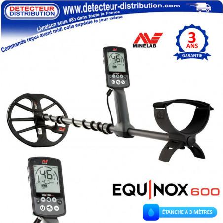 Détecteur Minelab Equinox 600 pas cher