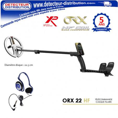 Détecteur XP ORX disque 22 HF pas cher
